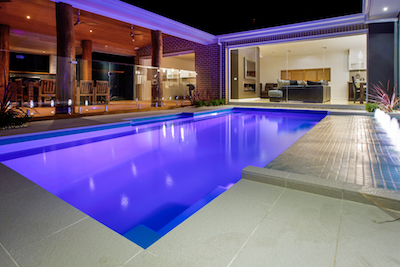 Fiberglass pool for inground installation residential in  Gatineau and Ottawa